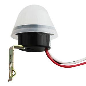 AUTOMATICO-ON-OFF-STRADALE-LUCE-LAMPADA-Switch-Foto-Controllo-sensore-per-AC