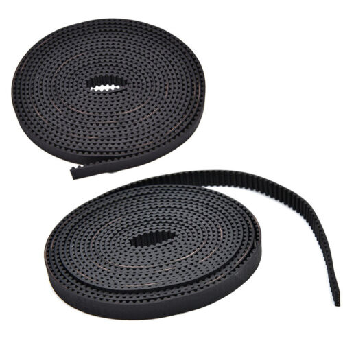 Open End RepRap GT2 Timing Belt 6mm Wide 2mm Pitch 2GT For Pulley 3D Prin SL