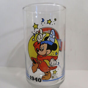 Complete Set of 6 Mickey Mouse Glasses Sunoco Canada 1928 - 1988 Kitchener / Waterloo Kitchener Area image 3