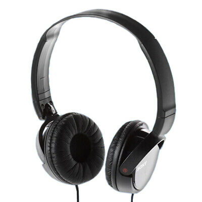 Sony MDR-ZX110 Stereo Foldable Over-Head Headphones / Black