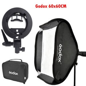 Godox 60x60cm Softbox S-Type Flash Bracket Bowens Mount