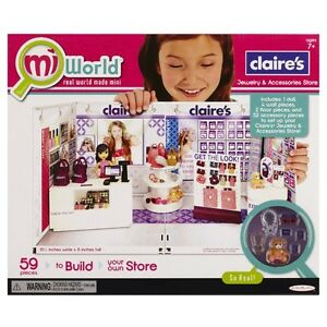 NEW: MiWorld Claires Deluxe Play Set