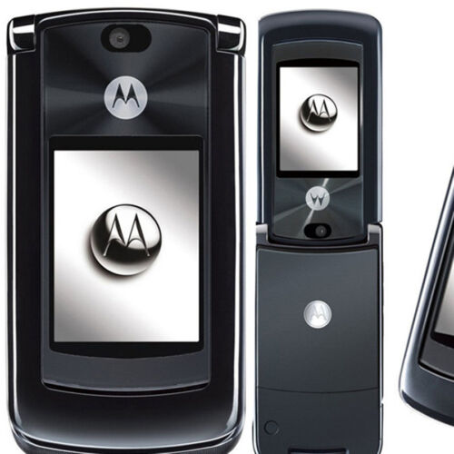как выглядит Мобильный телефон Original Motorola MOTORAZR2 V8 Unlocked 2G/512MB Luxury Edition Cellphone фото