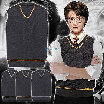 indor Strickweste Pullover Halloween Kostüm Party Cosplay (Hogwarts Halloween-kostüm)