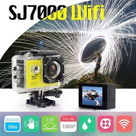 SJ7000 WIFI Sports 1080p DV Action Camera Full HD Waterproof Camcorder For GoPro