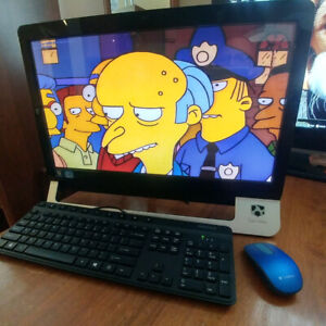 Core i3 3.3Ghz All In One Touch Screen 8Gb, 240Gb SSD, 2Tb
