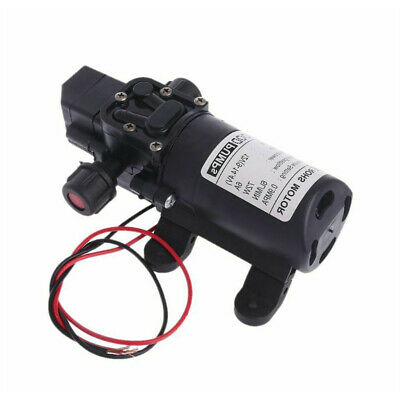 Dc 12v 130psi 6lmin Water High Pressure Diaphragm Self Priming Pump 70w New Us