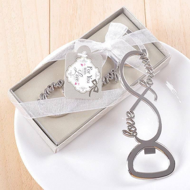 Love Forever Bottle Opener Wedding Favors And Gifts For Gues