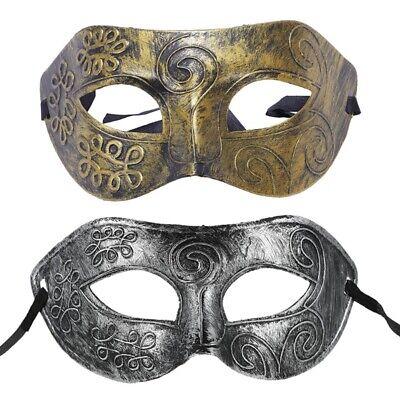 1Stk Männer Maskerade Maske Ball Masken Hirsch Party Phantasie Kleid Venezi Q3N4