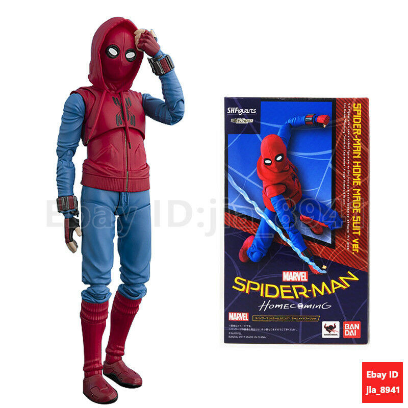 PVC Figure New In Box S.H Figuarts Spider-Man Homecoming Home Maid Suit ver