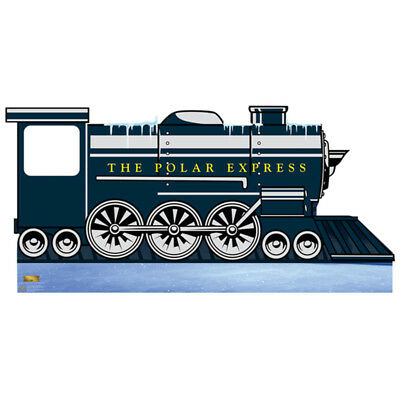 POLAR EXPRESS Stand-In CARDBOARD CUTOUT Standup Standee Poster Train Locomotive