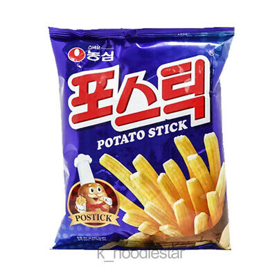 [Nongshim] Potato Stick Savory Salty French Fries Crispy Korean Food Snack 84 g