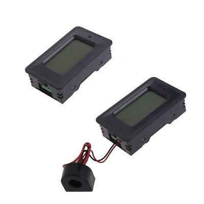 Ac Lcd Digital Panel Power Watt Meter Monitor Voltage Kwh Voltmeter Ammeter