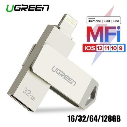 Ugreen USB Flash Drive USB Pendrive voor iPhone Xs Max X 8 7