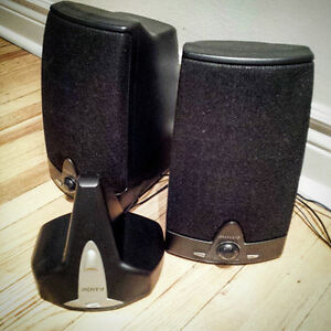 Stereo speakers - wireless Advent