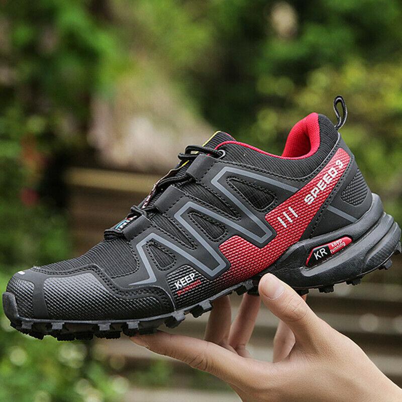 Mens Speedcross 3 Athletic Sneakers Running Sports Outdoors