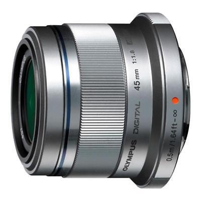 Olympus M.Zuiko ET-M4518 45mm f/1.8 AF Lens Silver gebraucht kaufen  Versand nach Germany