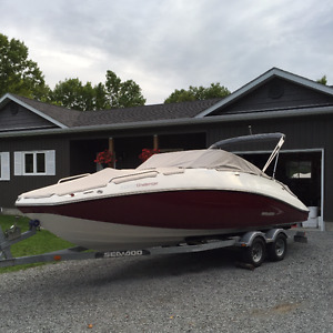 2009 23' Sea Doo Challenger 230 with Twin 255hp!!