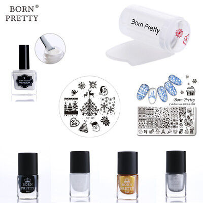 4Pcs Nails Stamping Polish Kits Liquid Tape Latex Stamper & Scraper Stamp - Wholesale Liquid Latex