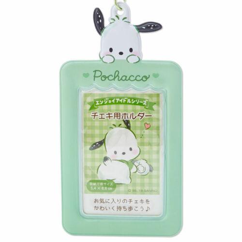 Pochacco Photo holder frame charm keychain Sanrio Japan Official Goods New