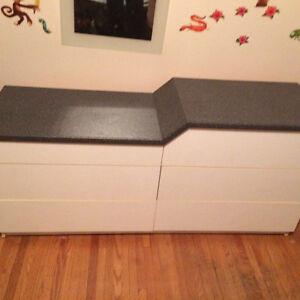 Dresser and wardrobe
