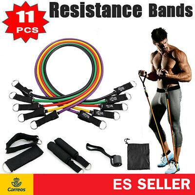 Conjunto de 11 piezas bandas de Resistencia para Ejercicios Kit De Bandas...