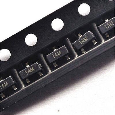 50pcs Smd Transistor Mmbt3904 1am 200ma40v Npn Sot-23 Transistor2n3904 3904