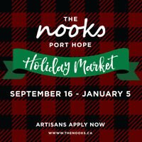 ARTISANS WANTED for The Nooks PORT HOPE!