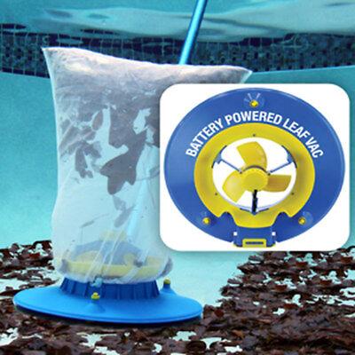 Water Tech Swimming Pool Battery Powered Hoseless Leaf Vacuum LVAC100 ()