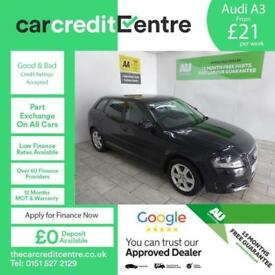 BLACK AUDI A3 1.6 TDI SE ***FROM £21 PER WEEK***