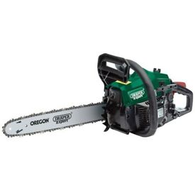 DRAPER 32727 EXPERT 37CC 400MM PETROL CHAINSAW WITH OREGON CHAIN & BAR