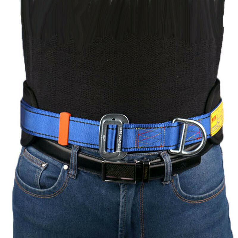 """Safety Rock Tree Climbing Harness Belt Equip Tool D-Ring Adjustable 25""""-47"""""""