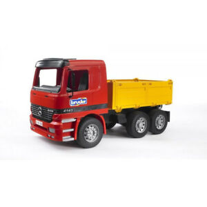 Bruder Construction Tipper Truck & Mini-Escavator