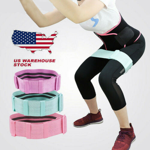 Exercise Resistance Bands Thicken Anti-Slip & Roll Mini Hip Circle Loop Fitness Fitness Equipment & Gear