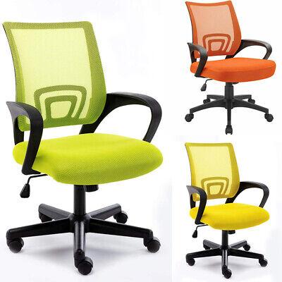 Ergonomic Midback Mesh Chair Computer Office Heavy Duty Metal Base Home Desk
