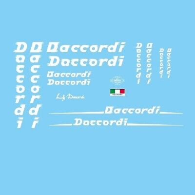 Daccordi Bicycle Decals, Stickers n.5, used for sale  Shipping to United States