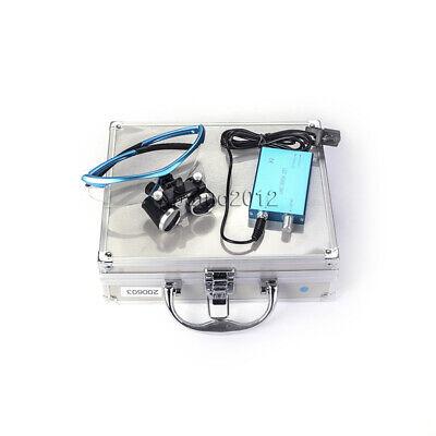 3.5x 420mm Dental Led Headlight Lamp Dental Surgical Medical Binocular Loupe 3w