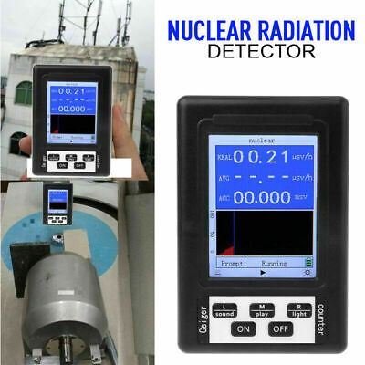 Geiger Counter Y Xray Radiation Detector Nuclear Radiation Monitor Meter