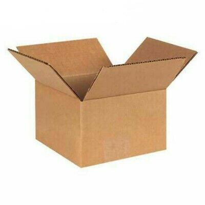 X50 Small Cardboard Shipping Boxes - 6 X 6 X 4in 15x15x10cm