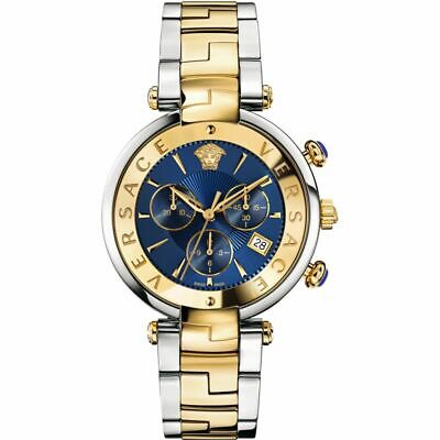 Versace VAJ180017 Reve Two Tone 41mm Chronograph Women's Watch