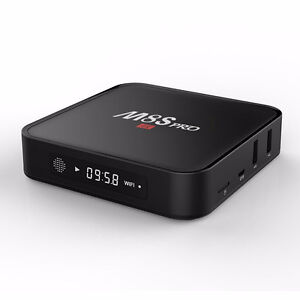 M8s Pro android tv boxes with wireless keyboard ***NEW!!
