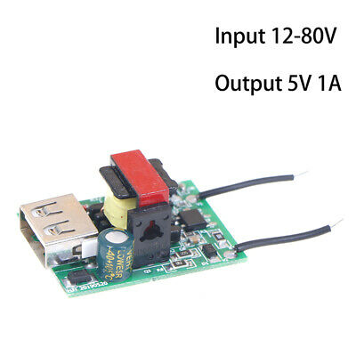 Dc-dc Step Down Module 12v 24v 36v 48v 72v To 5v 1a Usb Isolated Power Sup Fs