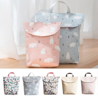Outdoor Baby Diaper Organizer  Felt Changing Nappy Kids Storage Bag