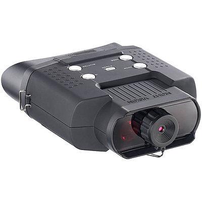 Nachtsicht: Nachtsichtgerät DN-700, Binokular, bis 400 m Sichtweite, SD-Aufnahme