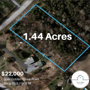 1.44 Acres - Upper Golden Grove Road