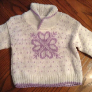 SIZE 18 mth Sweater. NEVER WORN