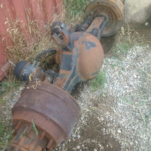 Rear axle International/ Wheels Kitchener / Waterloo Kitchener Area image 2