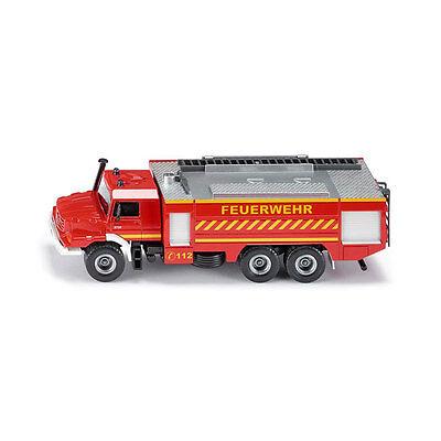 Siku 2109 Mercedes Zetros Fire Brigade Red Großlöschfahrzeug Scale 1:50 °