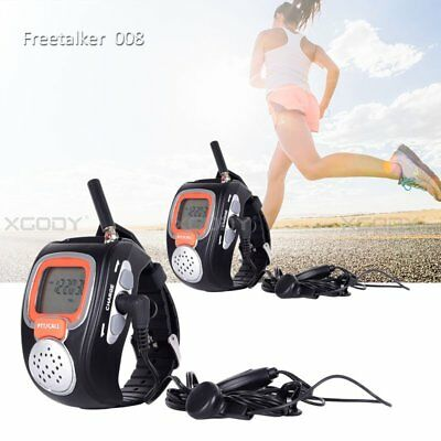 Portable Auto Squelch Walkie Talkie Two-Way Radio Watch for Outdoor Sport Hiking for sale  China
