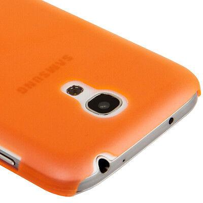 Samsung i9190 i9195 Galaxy S4 Mini - Coque arrière rigide translucide - Orange